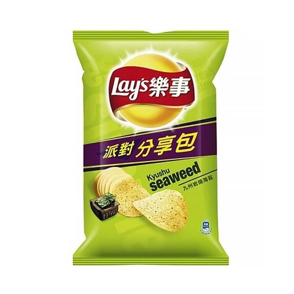 Lay's樂事洋芋片(九州岩燒海苔)75g【寶雅】