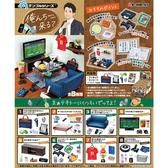 盒裝8款【日本正版】要不要來我家 場景組 盒玩 擺飾 要來我家嗎? 單身男子的房間 Re-Ment 506159