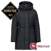 【Marmot】女 GORE-TEX Kristina女GT長版單件式鵝絨外套『黑色』1215-78480  防風 防潑水 透氣