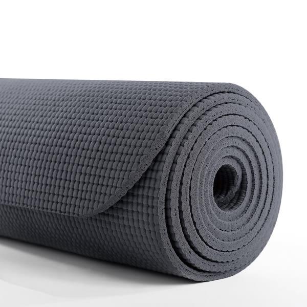 agoy瑜珈墊 學園瑜珈墊 (加長/6mm) - 煤炭灰
