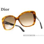 DIOR 太陽眼鏡 PRECIEUSE V08HA (琥珀) 典雅大框高貴經典款 墨鏡 # 金橘眼鏡