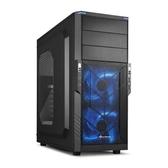 【台中平價鋪】Sharkoon旋剛 T3-W電腦機殼 封鎖者 藍色