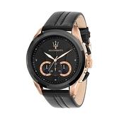 【Maserati 瑪莎拉蒂】TRAGUARDO時尚三眼計時腕錶/R8871612025/台灣總代理原公司貨享兩年保