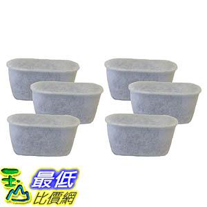 [106美國直購] 6 Keurig Charcoal Water Filters, Fits Keurig Single Cup Brewing Systems, Designed & Engineered