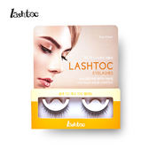 【LASHTOC】自黏式假睫毛-可愛纖長型