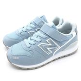 《7+1童鞋》中童 New Balance YV996PLU   復古 休閒 運動鞋 9460  水色