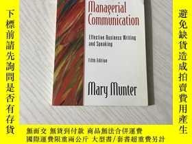 二手書博民逛書店guide罕見to managerial communicationY20850 Mary Munter Pr
