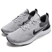 Nike 慢跑鞋 Odyssey React 灰 黑 發泡材質中底 緩震回彈舒適 男鞋 運動鞋【PUMP306】 AO9819-003
