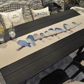 桌巾 定制桌旗北歐棉麻布藝桌布現代簡約台布餐桌中式茶幾長方形桌布餐桌巾【星時代生活館】