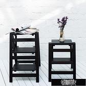 折疊梯家用折疊樓梯椅 全實木梯子椅子多功能兩用步階梯凳梯子凳子木梯 【全館免運】