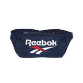 REEBOK 運動腰包 肩包 側背包 藍 FS1622