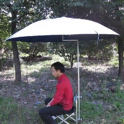 釣魚傘  2米雙彎90度鋁合金防紫外線 【藍星居家】