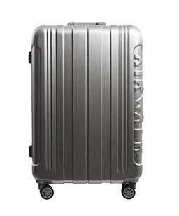 Backbager 背包族【美國 AIRWALK】金屬森林 立體髮絲紋 鋁框 24吋 行李箱/旅行箱/硬殼箱深灰色
