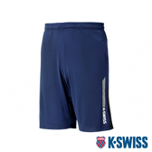 【超取】K-SWISS Performance Knit Shorts 運動短褲-男-藍
