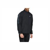 Asics I CON [2011B051-001] 男 外套 運動 跑步 透氣 虎爪 雙側拉練口袋 海外版 黑