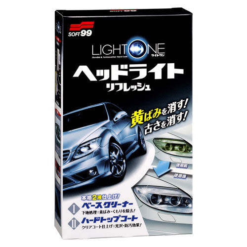 SOFT99 車燈罩去污、保護劑