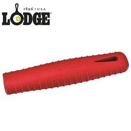 丹大戶外【LODGE】長鍋柄矽膠套 鍋把套 紅 ASCRHH41