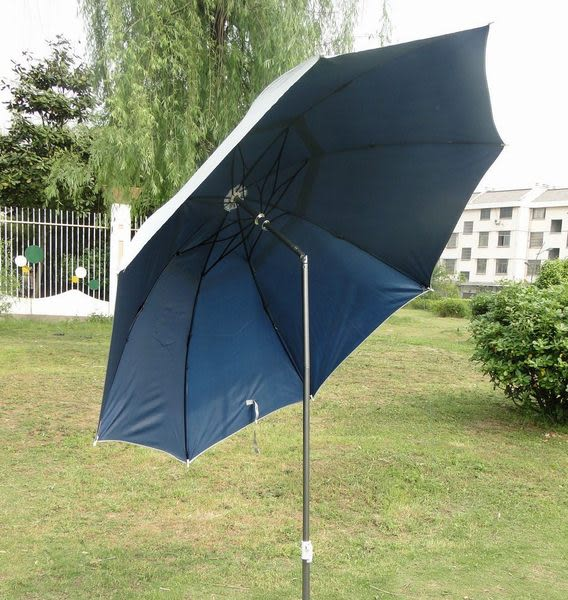 遮雨防紫外線太陽傘 防風繩地釘加固 廣告釣魚傘