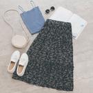 MUMU【P34618】三層碎花雪紡半身裙