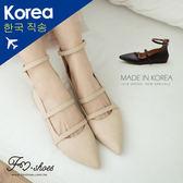 包鞋.細繞帶後拉鍊包鞋-FM時尚美鞋-韓國精選.Vacation