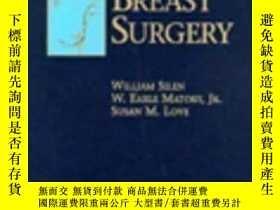 二手書博民逛書店Atlas罕見of Techniques in Breast Surgery-乳腺外科技術圖集Y361738