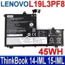 LENOVO L19L3PF8 3芯 . 電池 SB10X55568 ThinkBook 14-IML 15-IML