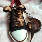 鞋帶  英倫范2cm寬絲帶綢緞潮人綁帶可調節  AB1082 【3C環球數位館】
