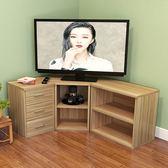 轉角組合電視櫃 牆角電視櫃視聽櫃 韓式組合櫃 簡約地櫃三角櫃