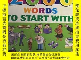 二手書博民逛書店TIMES罕見2000 WORDS TO START WITH