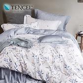 【貝兒居家寢飾生活館】頂級100%天絲鋪棉涼被床包組(雙人/淺笑)
