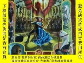 二手書博民逛書店The罕見land of stories a Grimm warning Chris colfer large p