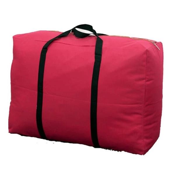 帆布收納袋超大容量加厚牛津布行李袋裝衣服被子【聚寶屋】