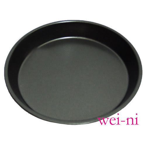 wei-ni 不沾披薩烤盤(圓型) 8吋 烘焙用具 烤模 烤盤 料理 DIY 鋼材不沾處理 台灣製 3105ST