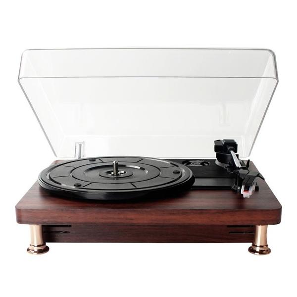 【土城現貨】24小時出貨-黑膠唱片機復古留聲機生日禮物老式LP歐式音樂電唱機