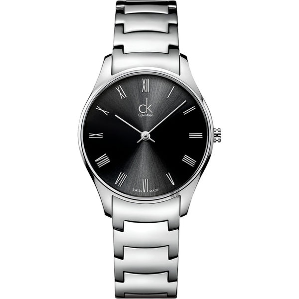 CK手錶 Calvin Klein Classic系列 女士腕錶 瑞士ck手錶 男錶女錶對錶K4D2214Y
