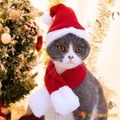 寵物貓咪帽子可愛生日圣誕節衣服飾品頭飾圍脖貓貓兔耳朵頭套【小獅子】