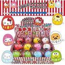 Sanrio SANRIO明星發條玩具-滾滾達摩不倒翁(6種款式,隨機出貨*1)★funbox★_632627