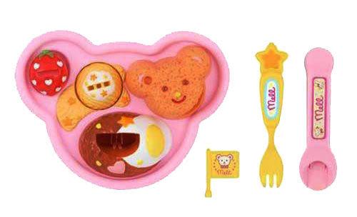 《 日本小美樂 》小美樂配件 -- 用餐組╭★ JOYBUS玩具百貨