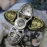 ✭慢思行✭ 【P25-2】鋅合金十字款指尖陀螺 十字軍 鋅合金 手指玩具 抗煩躁 解焦慮