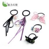 頭繩簡約個性扎頭發皮筋發繩頭飾發圈發飾