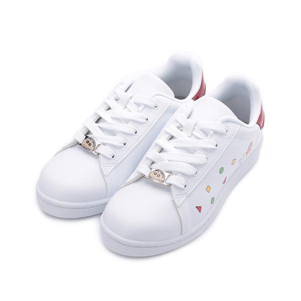 蠟筆小新 釦飾休閒板鞋
