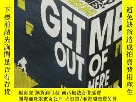 二手書博民逛書店Get罕見Me Out of Here by Henry Sut