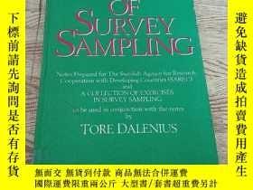 二手書博民逛書店ELEMENTS罕見OF SURVEY SAMPLING (調查抽樣要素)Y182144