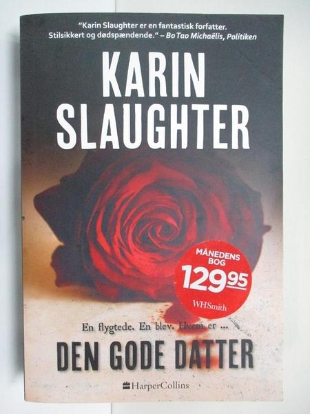 【書寶二手書T1/原文小說_BI1】Den gode datter_Karin Slaughter
