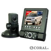 【CORAL】DVR211分離式雙鏡頭行車記錄器