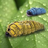 模擬遙控昆蟲小動物創意模型送兒童的禮物新奇玩具智慧整蠱毛毛蟲   走心小賣場
