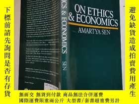 二手書博民逛書店on罕見ethics & economics (論倫理學與經濟學) 英文原版Y15270 英文原版 出版1