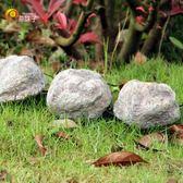 創意發光石頭燈戶外庭院太陽能燈花園景觀燈草坪燈LED防水