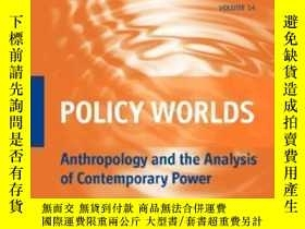 二手書博民逛書店Policy罕見Worlds-政策世界Y436638 Cris Shore; Susan... Berghah