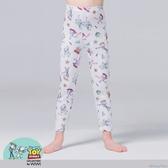 【WIWI】歡樂總動員溫灸刷毛九分發熱褲(純淨白 童100-150)